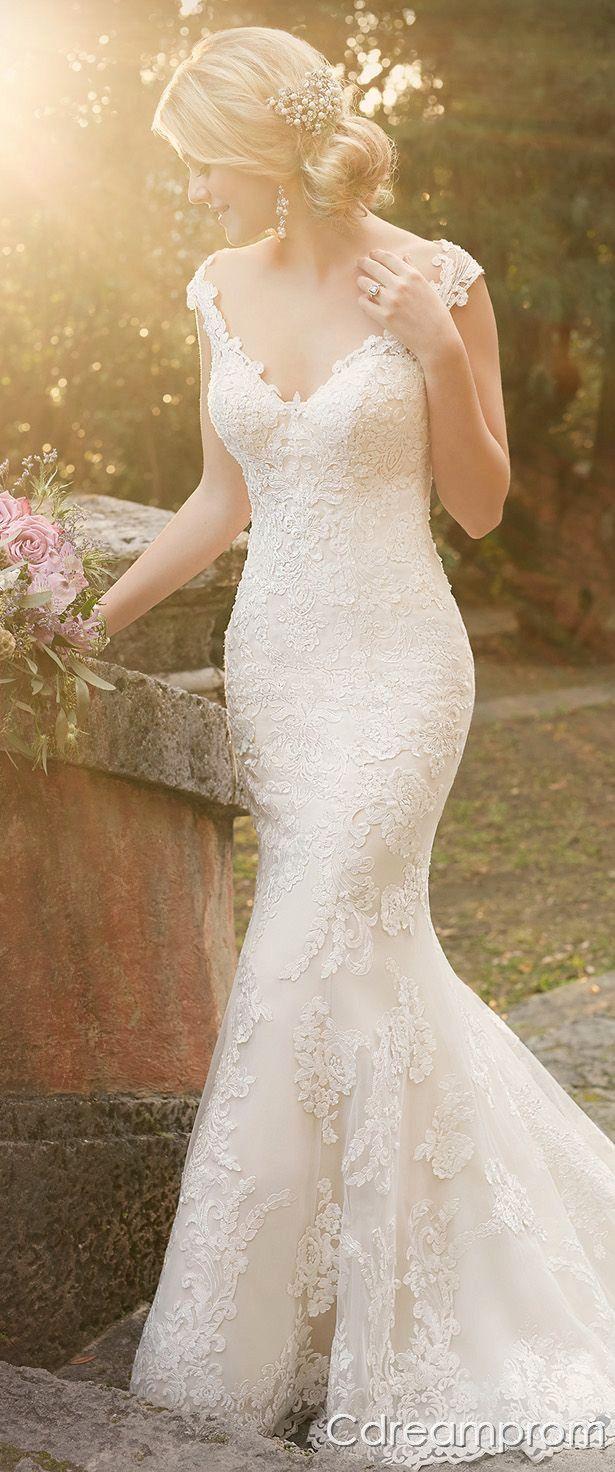 What is a mermaid wedding dress  mermaid wedding dress  Wedding  Pinterest  Mermaid wedding
