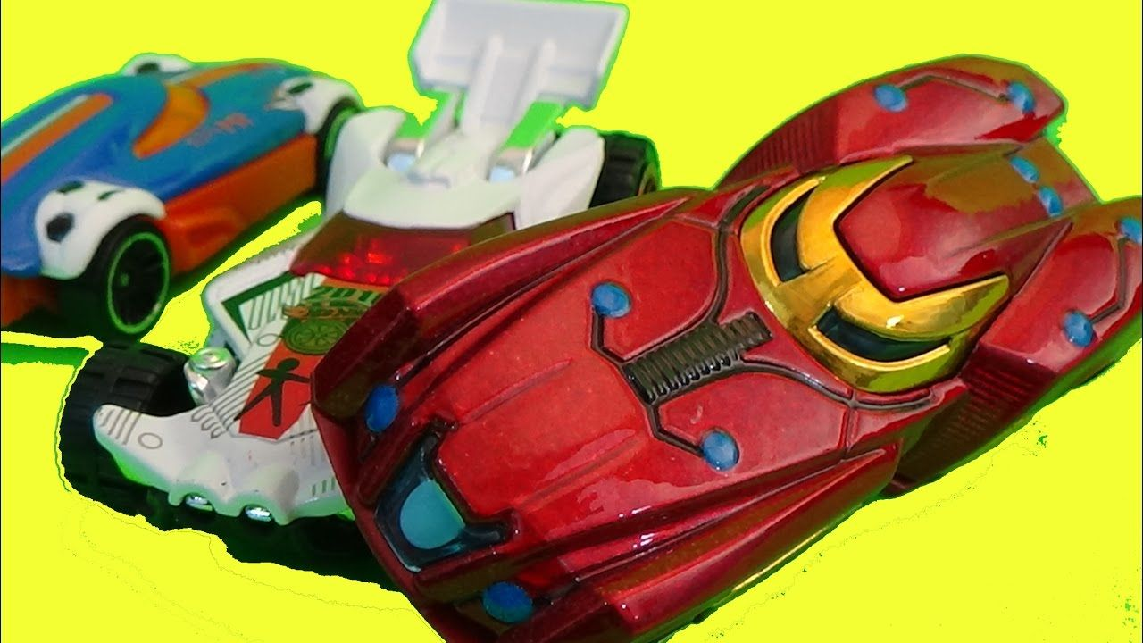 NEW Hot Wheels Iron Man Die-Casts Review by Funtoycollection