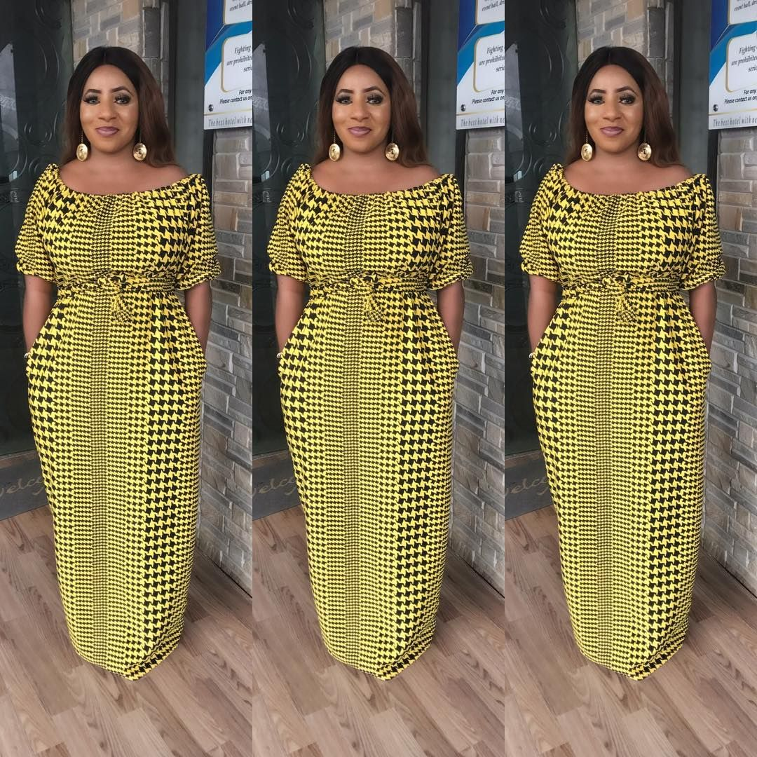 These ankara maxi dress styles are trending and has become a custom