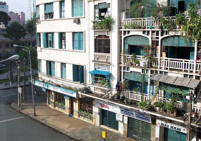 The Givral Restaurant And Eden Centre In Lam Son Square Saigon