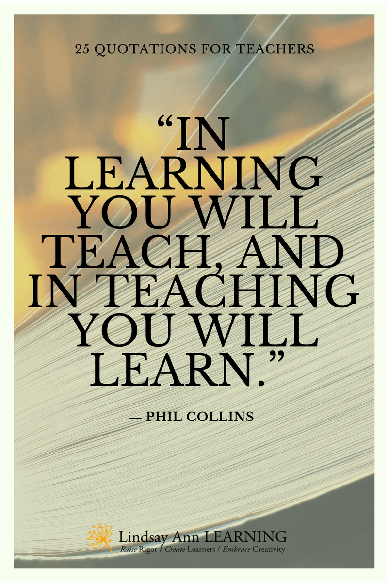25 Best Quotes About Teaching Teaching quotes, Learning