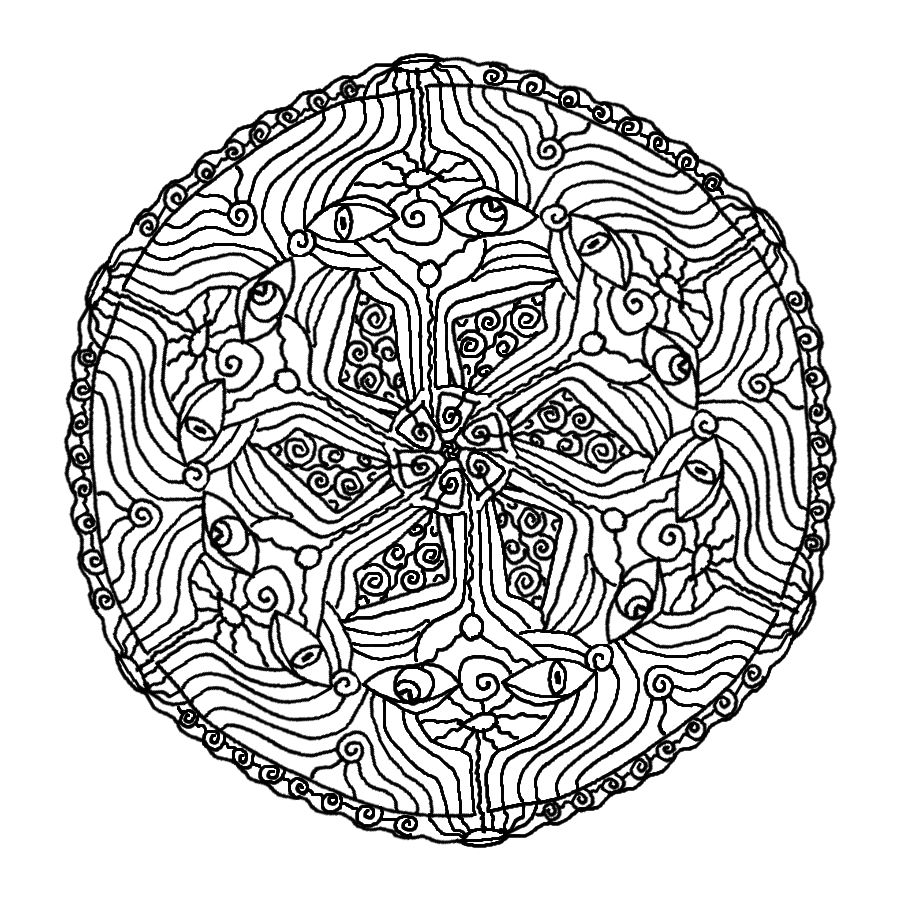 Coloring Pages Free Mandala Coloring Pages To Print 1000 images about mandala on pinterest coloring and art