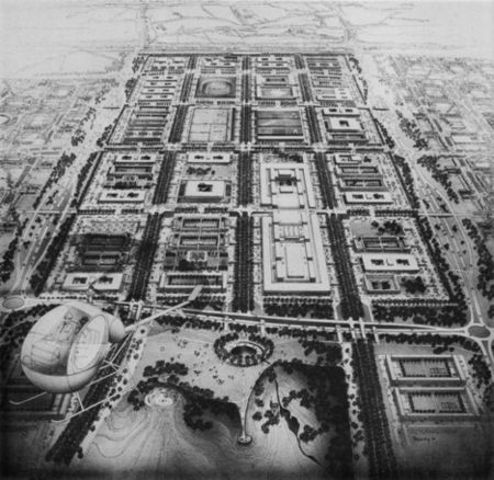 Helmut Jacoby,Aerial Drawing of MK