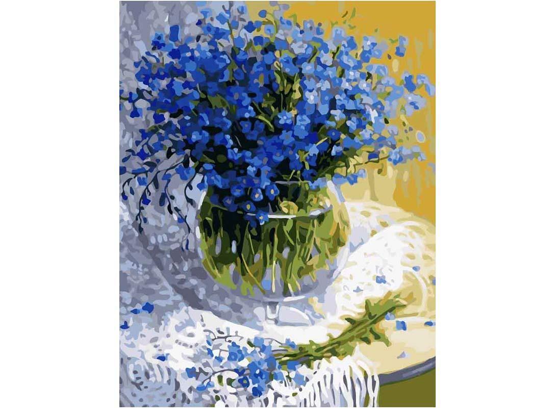 Картина по номерам «Полевые цветы» GX7210 Paintboy ...