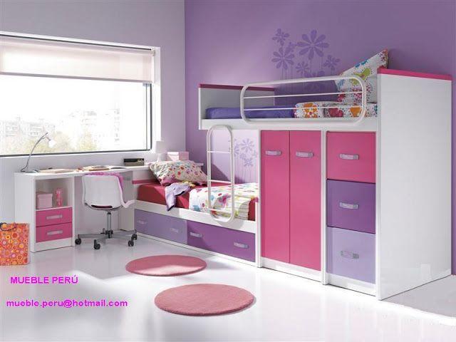 Dormitorios modernos hogar ideal habitaciones - Dormitorios infantiles modernos ...
