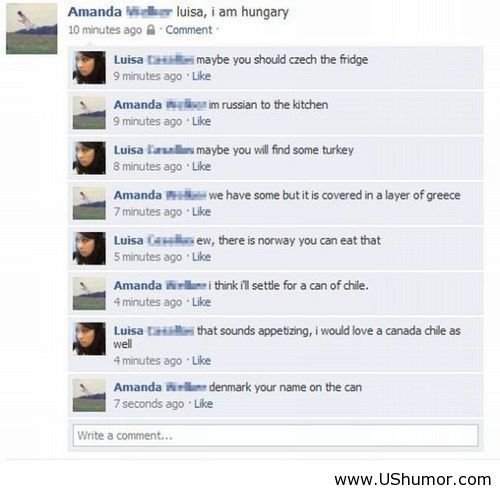 Funny photos to post on facebook