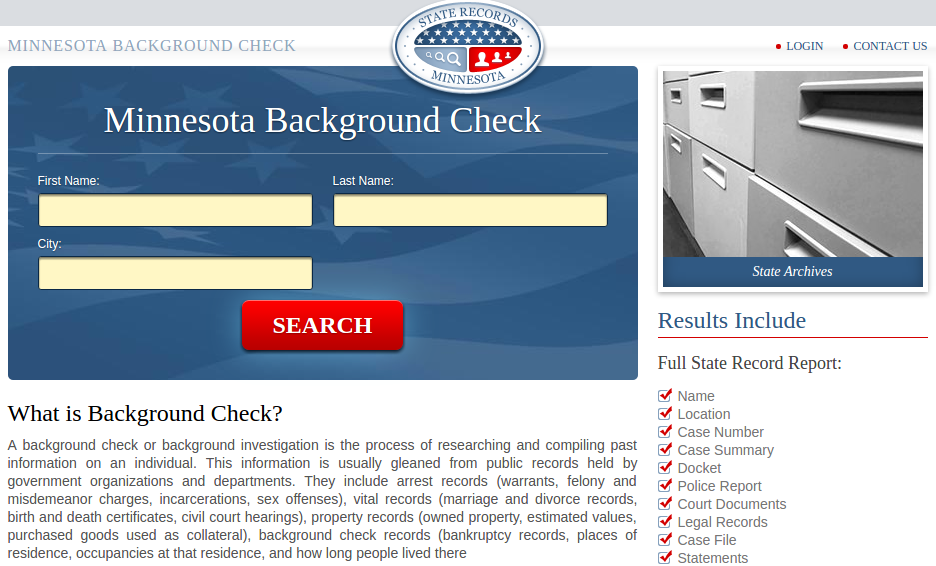 Background Check Minnesota. If you want to seek commercial ...