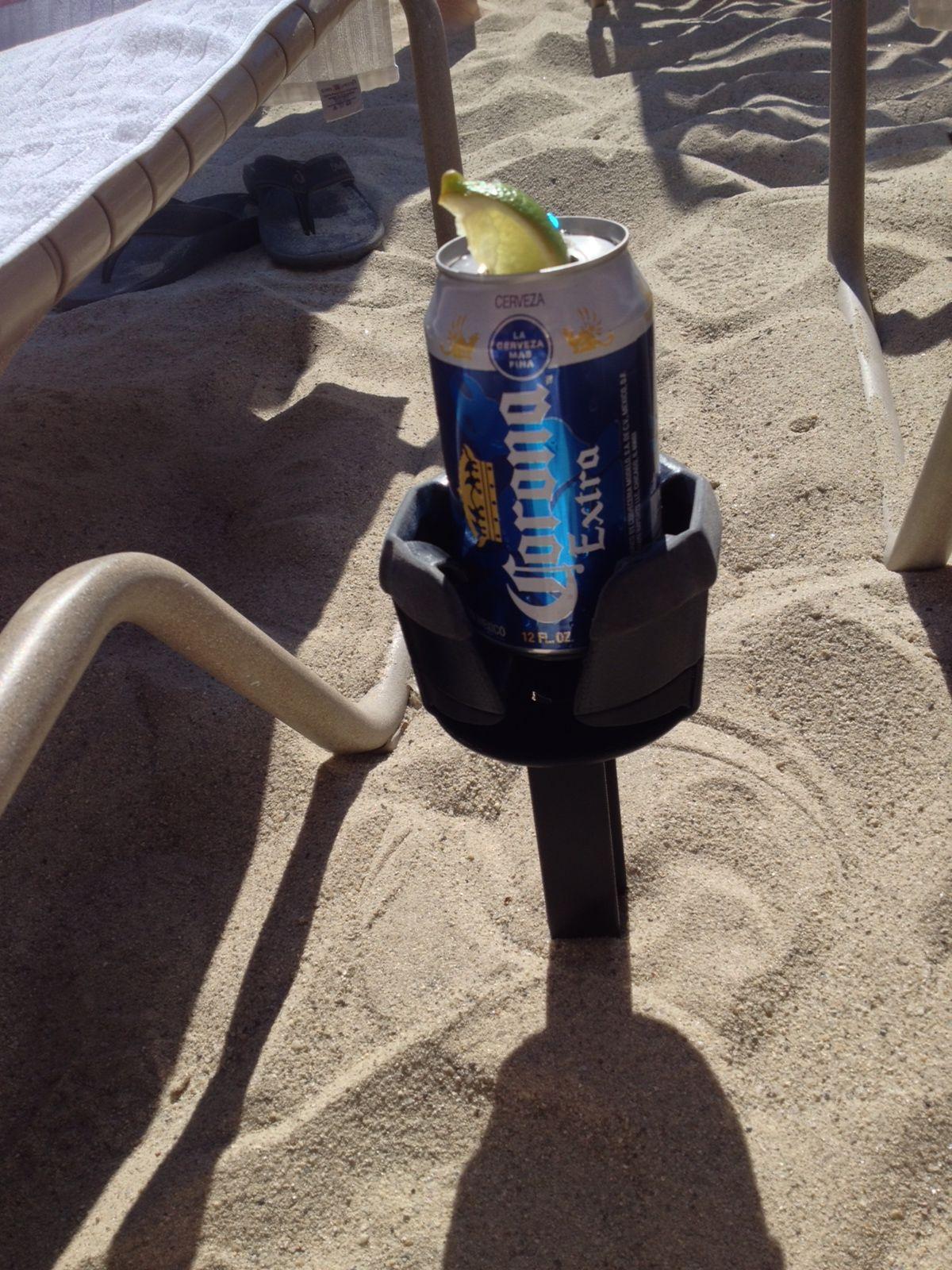 The Bevie Pro keeps beerholder cans, bottles, stemmed