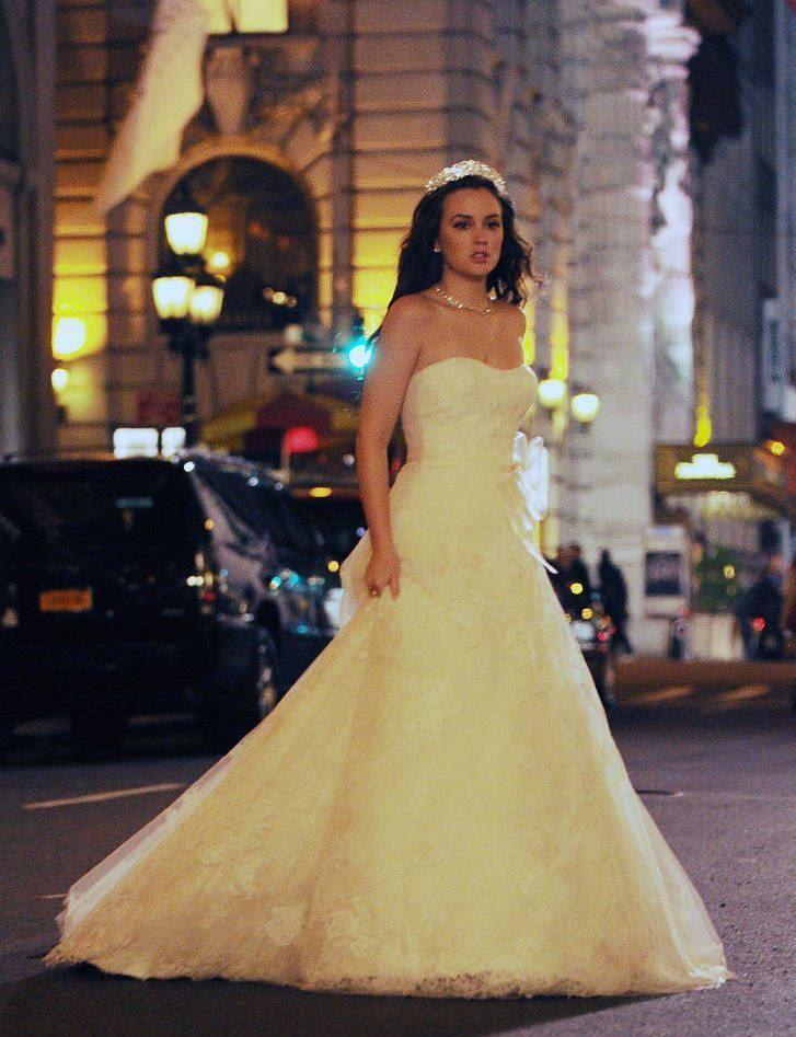 Blair waldorf in vera wang gossip girl wedding dresses