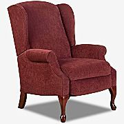 Recliner, High Leg Virginia III by Lane® at JC Penney (Color- Burgandy. Also comes in Flax, Moss, & Walnut)