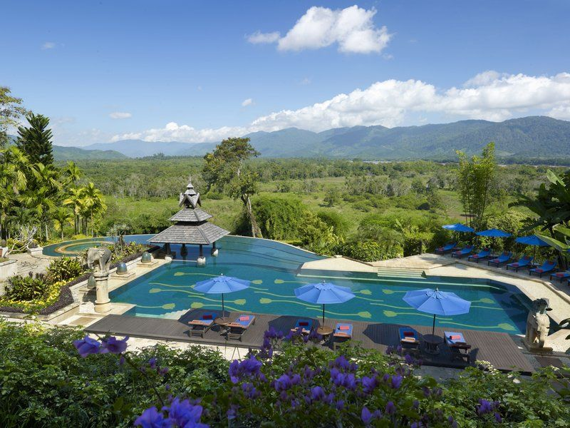 Beautiful view fo the Golden Triangle in Thailand at Anantara Golden Triangle Elephant Camp & Resort http://bit.ly/anantara-goldentriangle