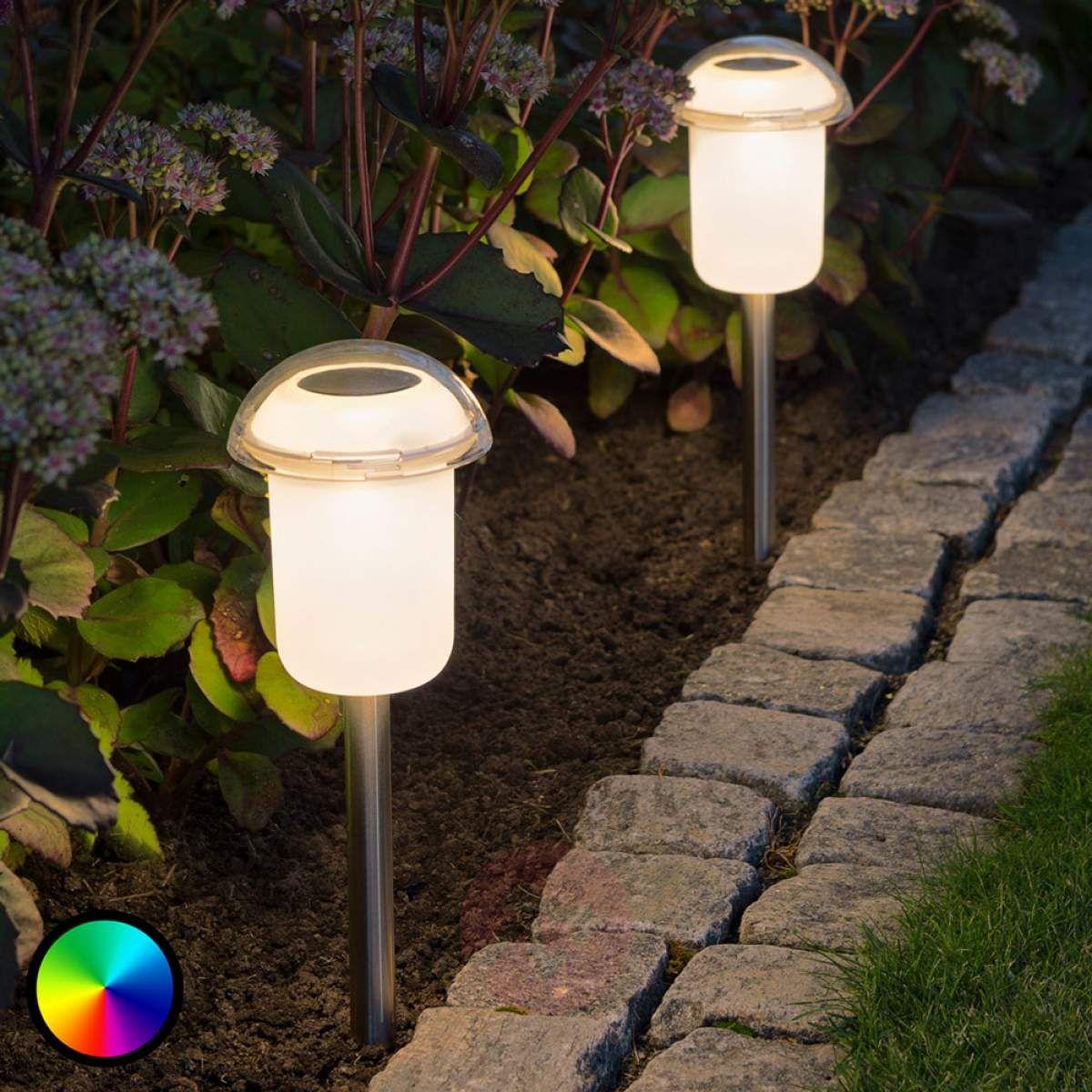 Zdejmowana Lampa Solarna Led Assisi Zmienne Barwy Lampy