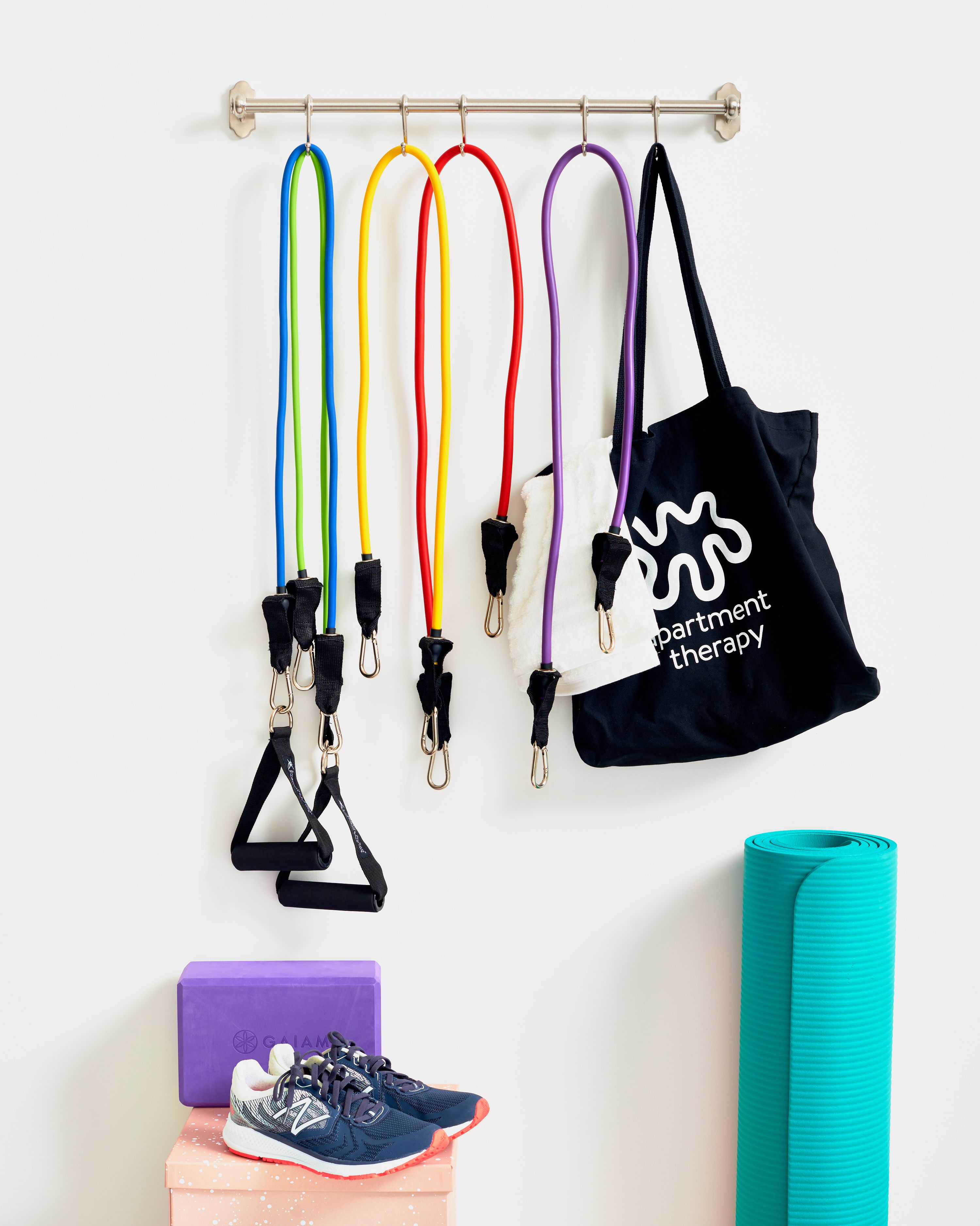 3 Brilliant Organizing Hacks For Working Out In Your Small
