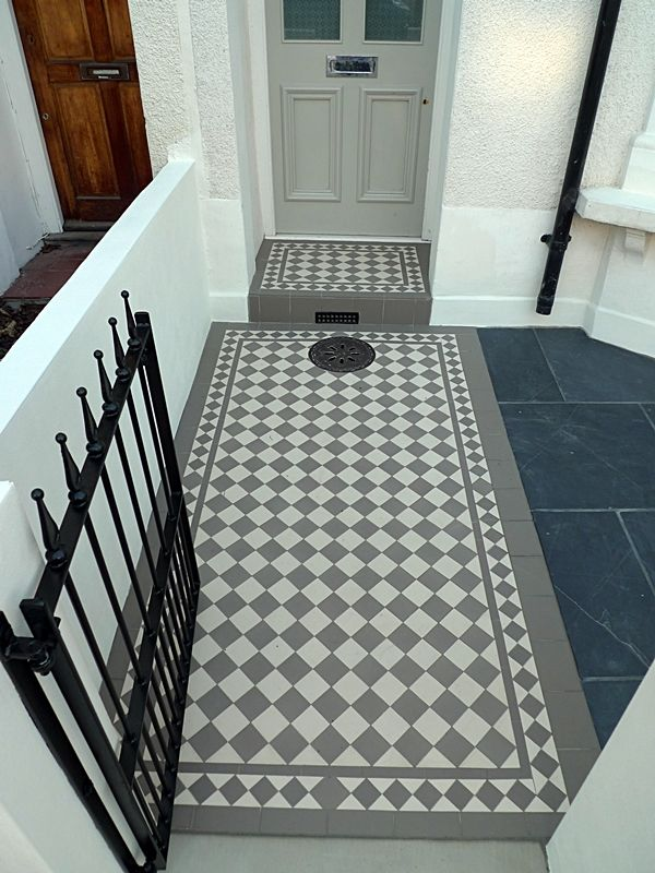 Victorian And Edwardian Mosaic Garden Path Designs And