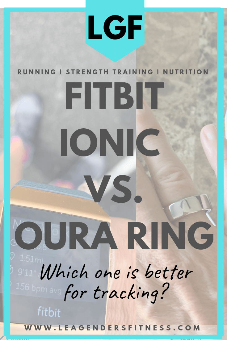 Oura Ring Vs Fitbit Ionic Which Is Better For Tracking Ionic