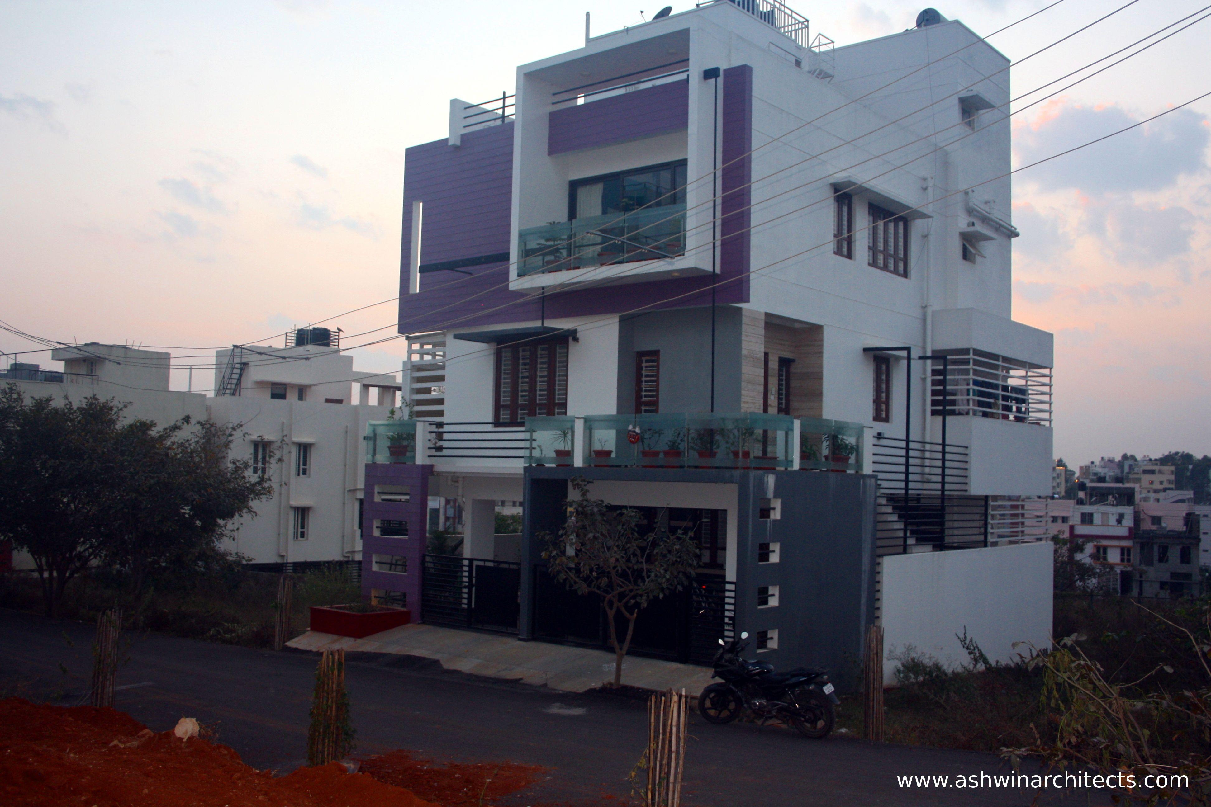 30x40 Site Independent Bungalow Side Elevation Indian Home Design House Design Front Elevation Designs