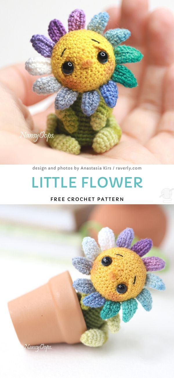 Little Flower Free Crochet Pattern