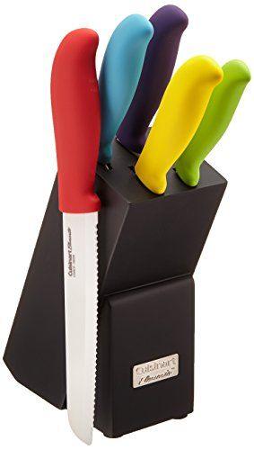 Cuisinart C59ce C6p Elements Ceramic 6 Piece Cutlery Knif Https Www Amazon Com Dp B00iks2ce6 Ref Cm Sw R Pi Dp Ceramic Cutlery Knife Block Set Knife Block