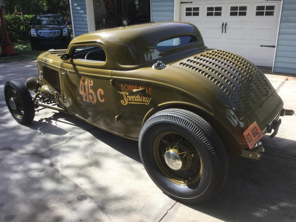 1933 ford 3 window coupe bonneville | 1933 Ford 3 Window 3-Window ...