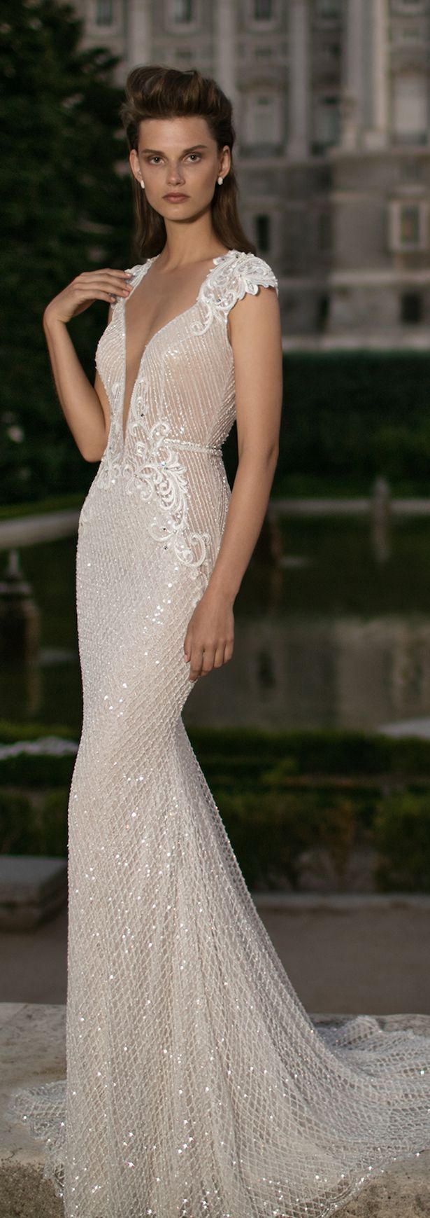 Wedding Dress by Berta Spring 2016 Bridal Collection - Belle The Magazine                                                                                                                                                                                 More