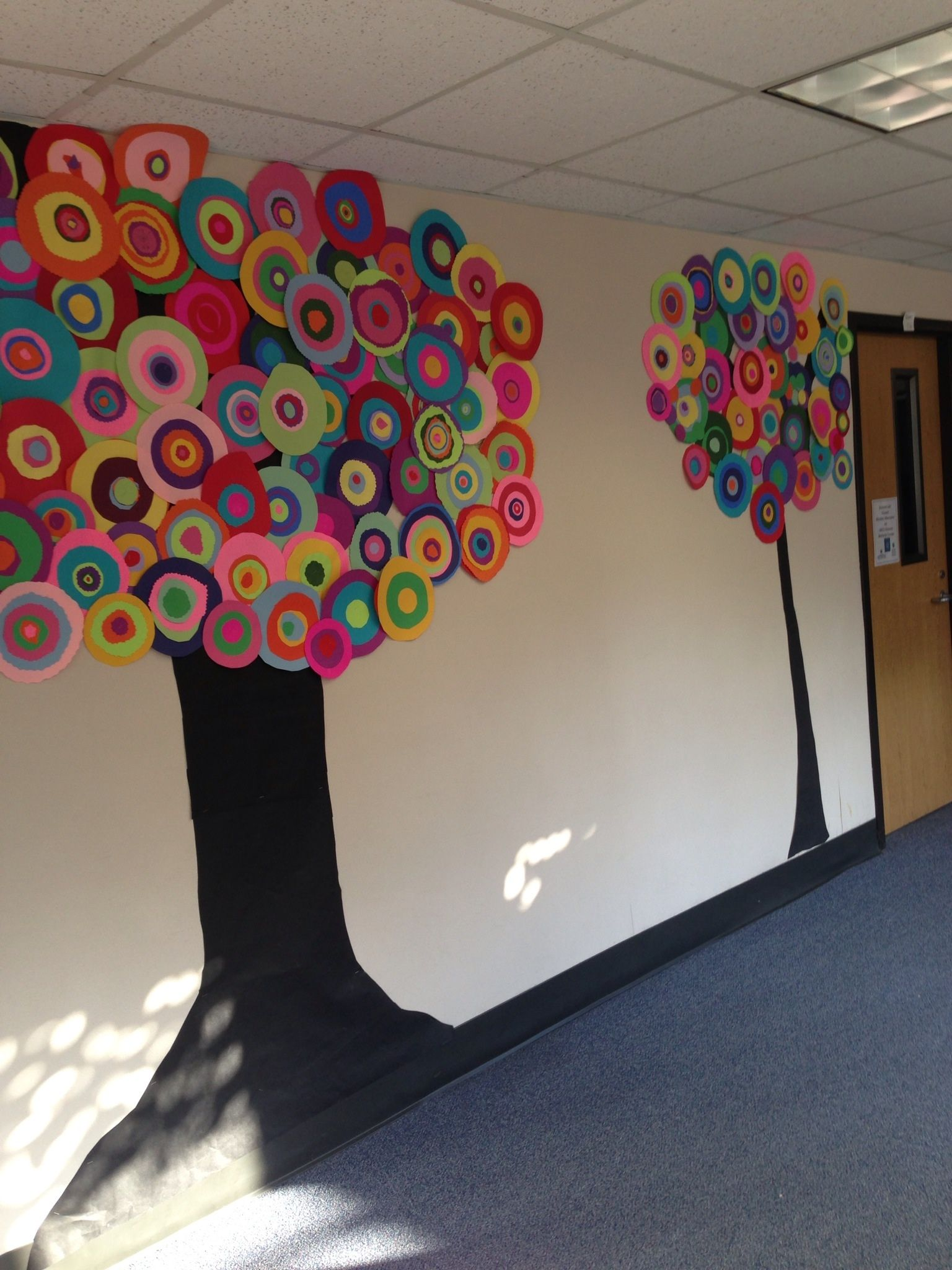 Artsy Trees For The Hallway