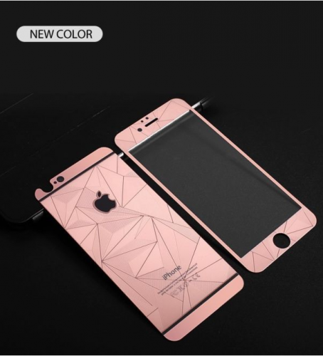 Apple Iphone 6 6s 3d Diamond Colour Mirror Tempered Glass Film Front Back Screen Protector Rose Gold Gojojo Online Mobile Accessories Electronics Stor Iphone Iphone 6splus Cases Iphone Colors