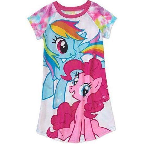Girls Shorts My Little Pony Rainbow Dash Twlight Sparkle Pinkie Pie   NWT