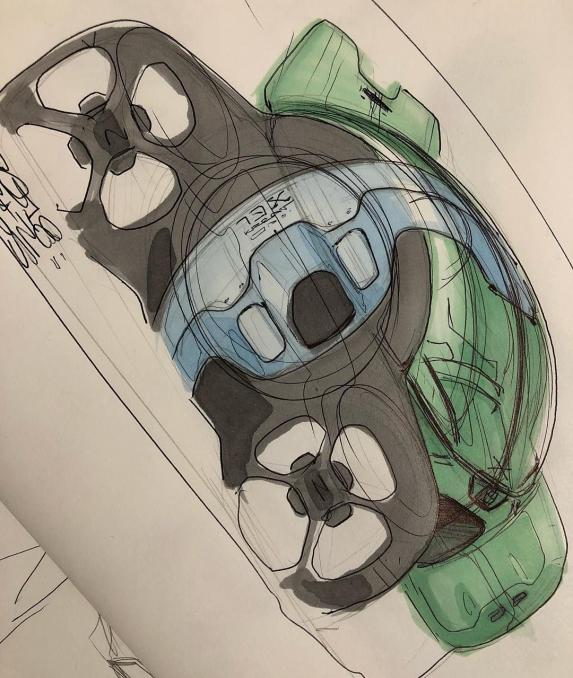 Akos Szaz on Instagram: Bubble4one #car #design #cardesign #designsketch #sketch #cardesigncommunity #drawing #instaart #art #instacar #conceptart #ballpointpen