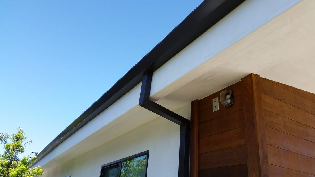 Bronze Gutters Modern Contemporary Homes Modern Houses Pictures Gutters
