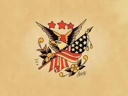 sailor jerry eagle tattoos - Google Search