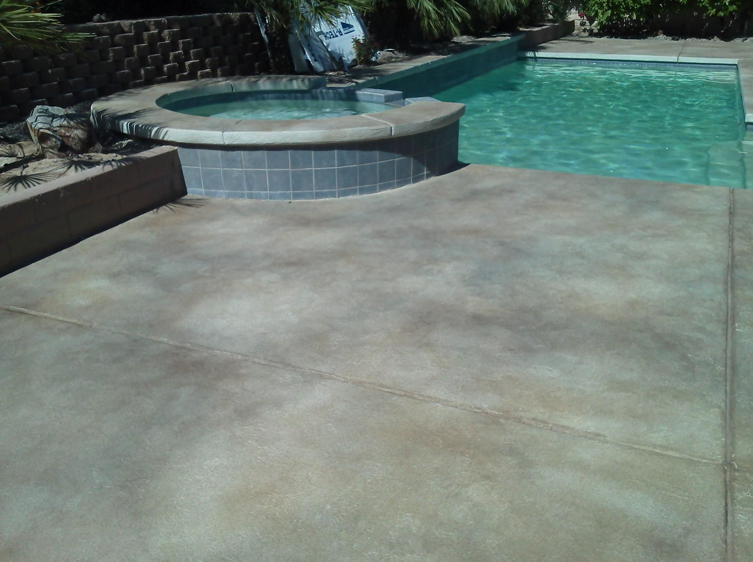 Westcoat Texture Crete Pool Deck In Palm Springs California