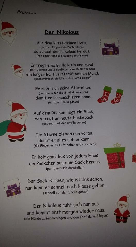 Weihnachtsgedicht Klasse 1