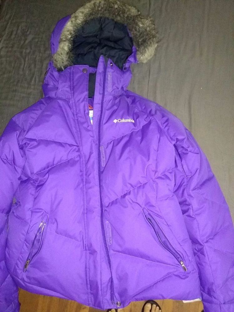 9a9a80128440 Columbia ski jacket. Purple in color. Size large. Preowned  fashion ...
