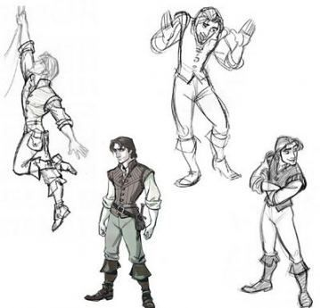 Photo of Disney concept art character design flynn rider 22+ best Ide…