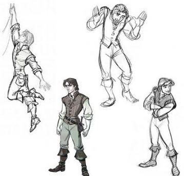 Photo of Disney concept art character design flynn rider 22+ best Ide…
