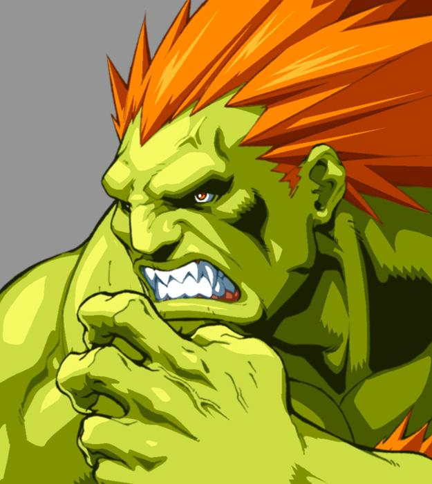 Character Select Blanka By Udoncrew On Deviantart Street Fighter Art Blanka Street Fighter Super Street Fighter