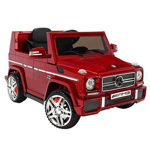 Mercedes By ZAAP G65 12v Ride On Kids Electric Battery Toy