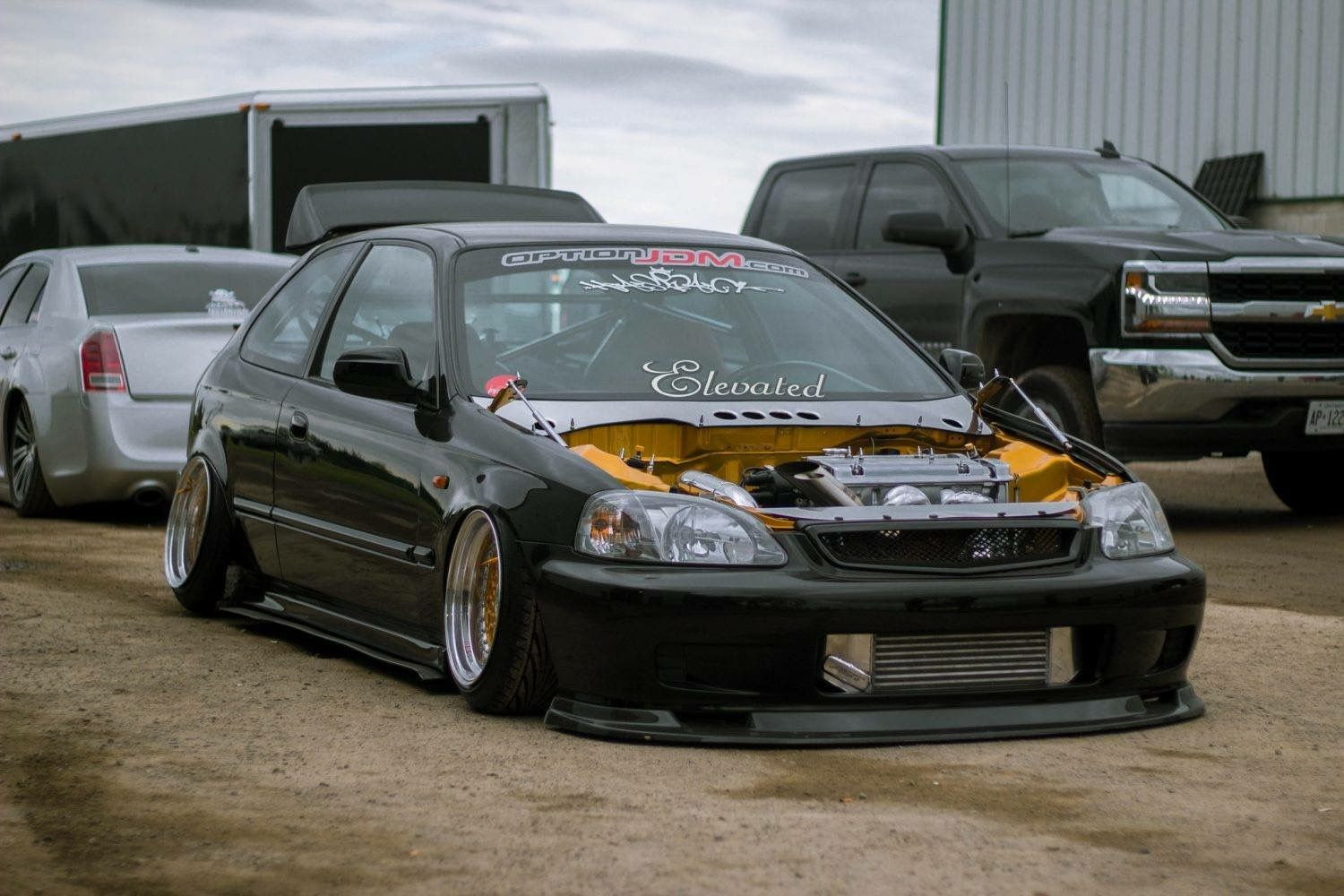 Honda Civic Ek Hatchback Stance 🇯🇵