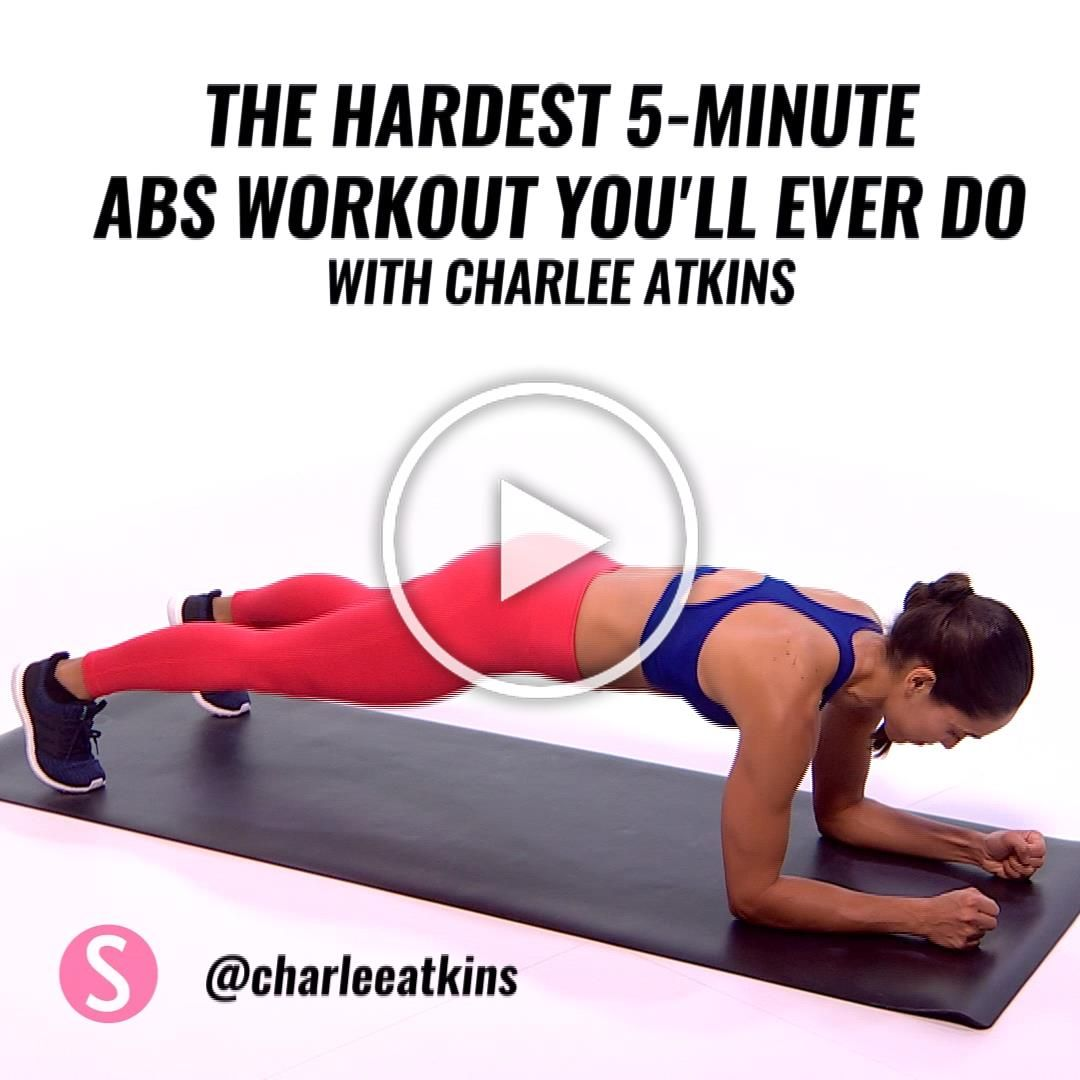 Besides the fact that its super quick, this abs workout requires no equipment and is suited to cramp...