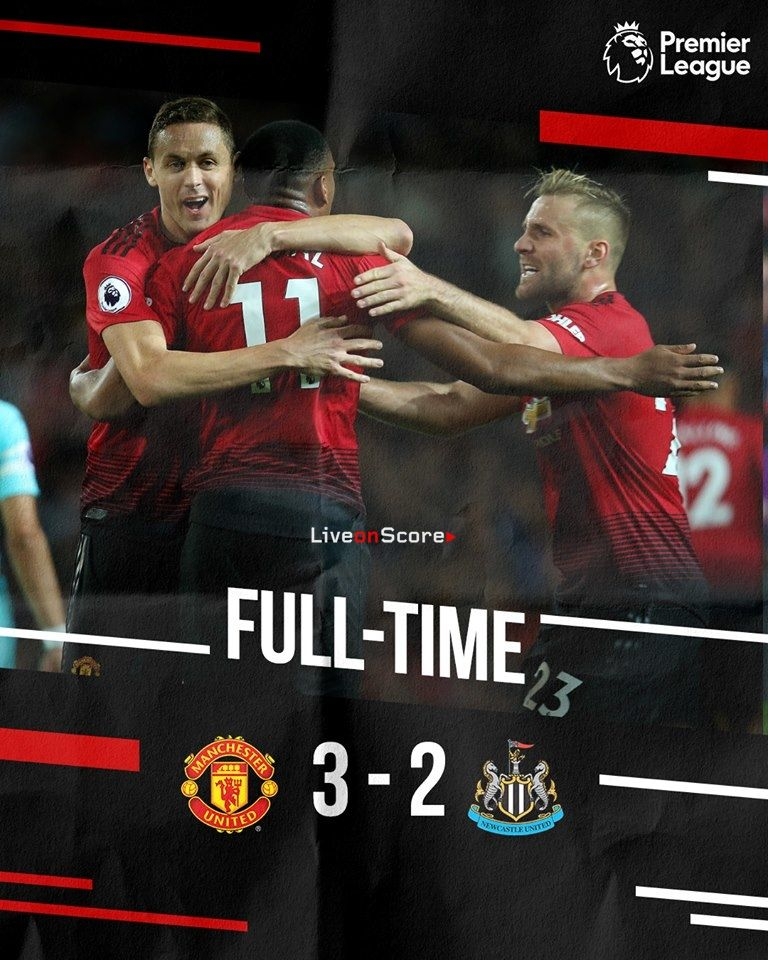 Manchester United 3 2 Newcastle United Full Highlight Video Premier League 2018 2019 Al Manchester United Manchester United Football Club Newcastle United
