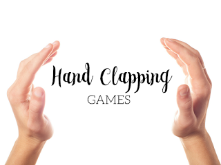 Hand clapping games: Blog post includes great songs with hand jives for your music lessons!