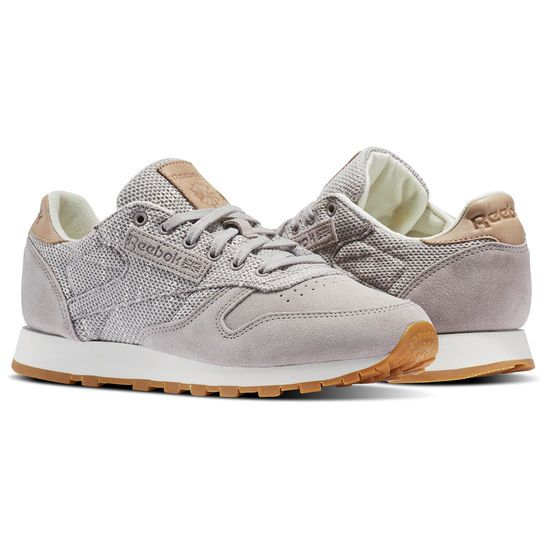 a10f446477 Reebok - Tenis Classic Leather Elevated Classic Knit