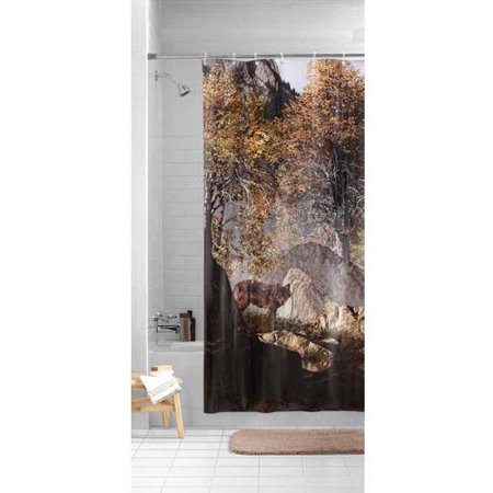 Mainstays Circles Peva Shower Curtain Walmart Com Cool Shower Curtains Hookless Shower Curtain Girl Bathrooms