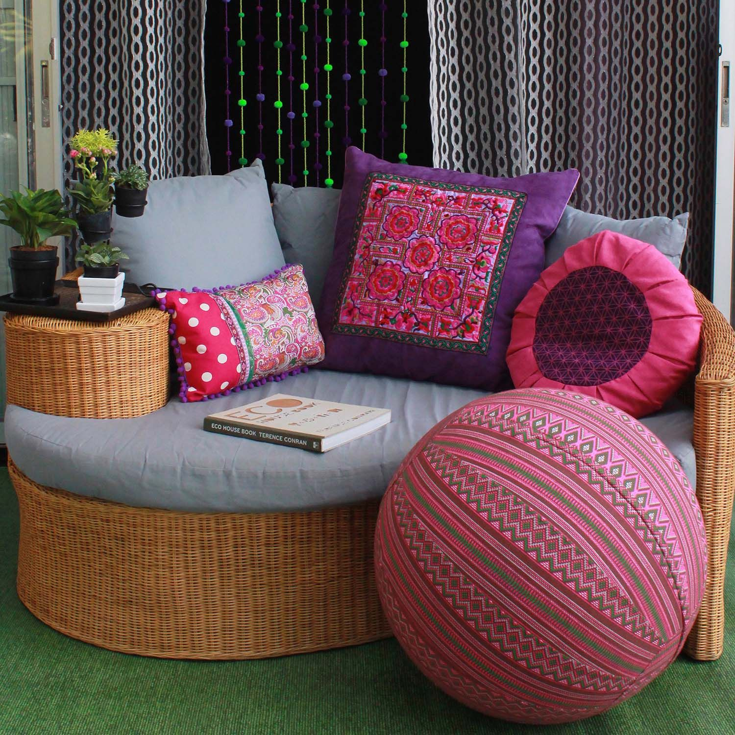 She Spotlight Global Groove Life She Changes Everything Bright Pillows Groove Life Outdoor Furniture Sets