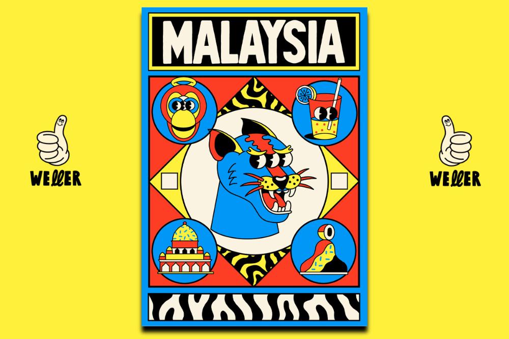 Asean Poster Series on Behance en 2020