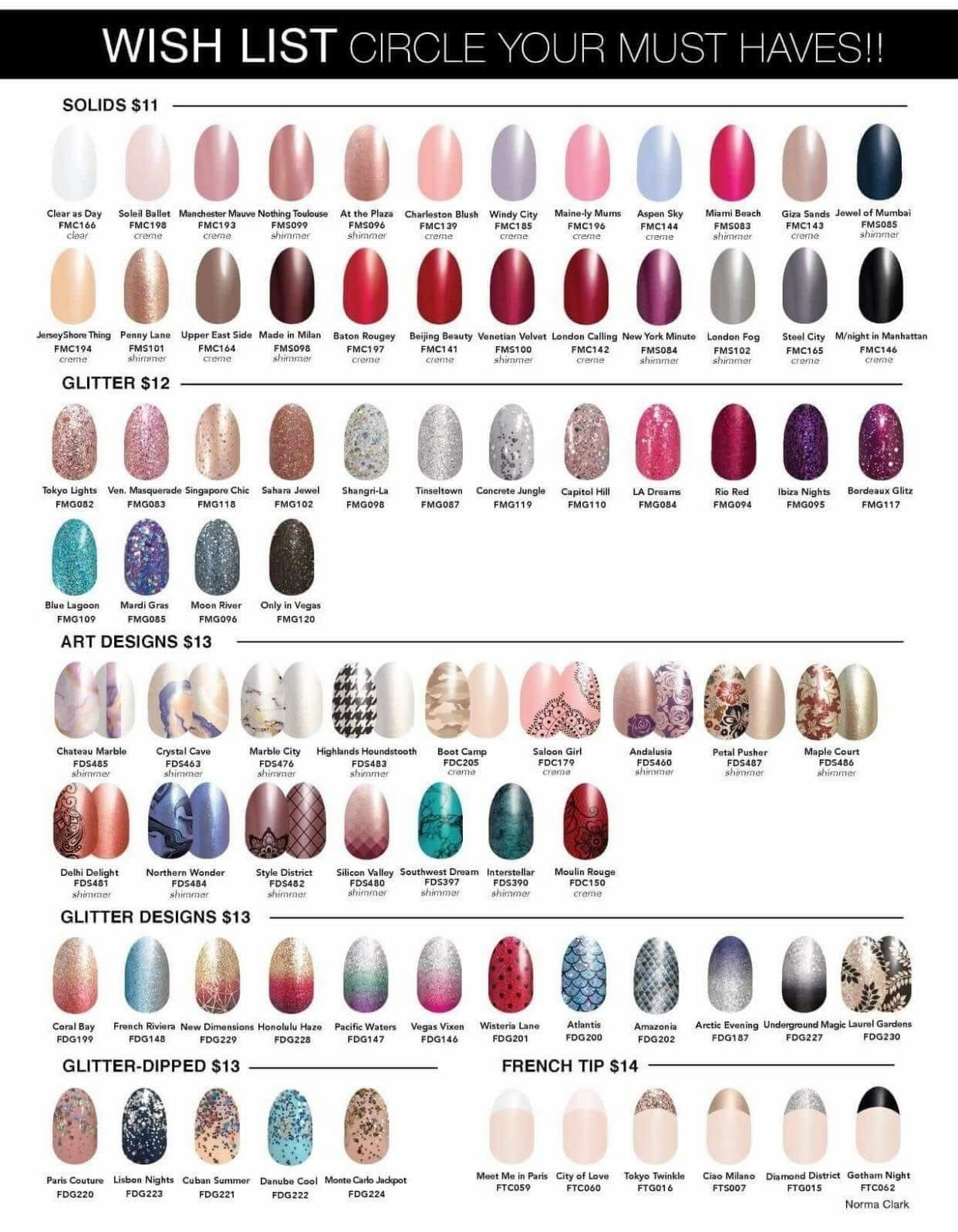 Fall/Winter Catalog. Color Street is 100% nail polish! No dry time ...
