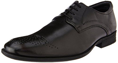 Hush Puppies Men S London Derby Black Leather Formal Shoes 8 Uk India 42 Eu 8 5 Us 8246914 Leather Shoes Brand Trendy Shoes 2017 Top Running Shoes