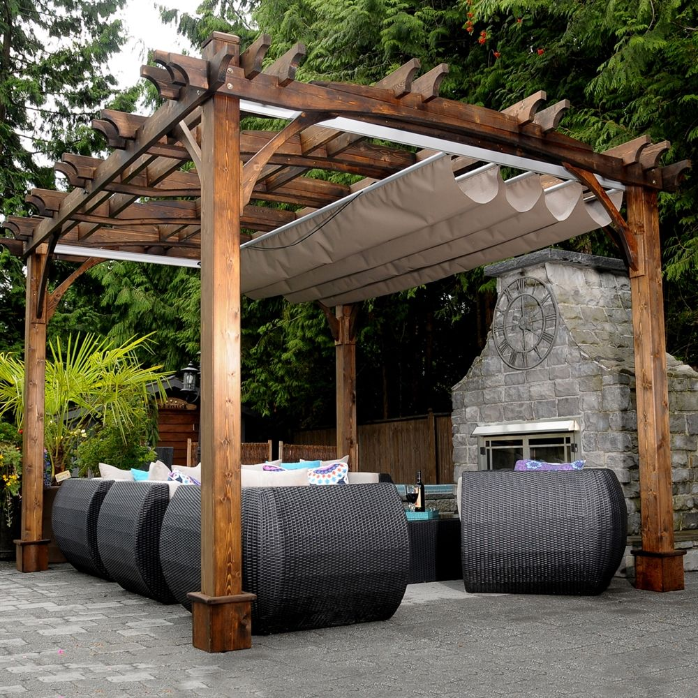 Shop Outdoor Living Today BZ1012ARCHWRC 10-ft X 12-ft