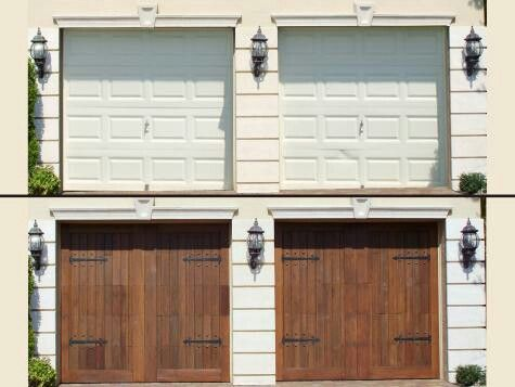 Resurface Your Garage Door Garage Doors Garage Door Makeover Garage Decor