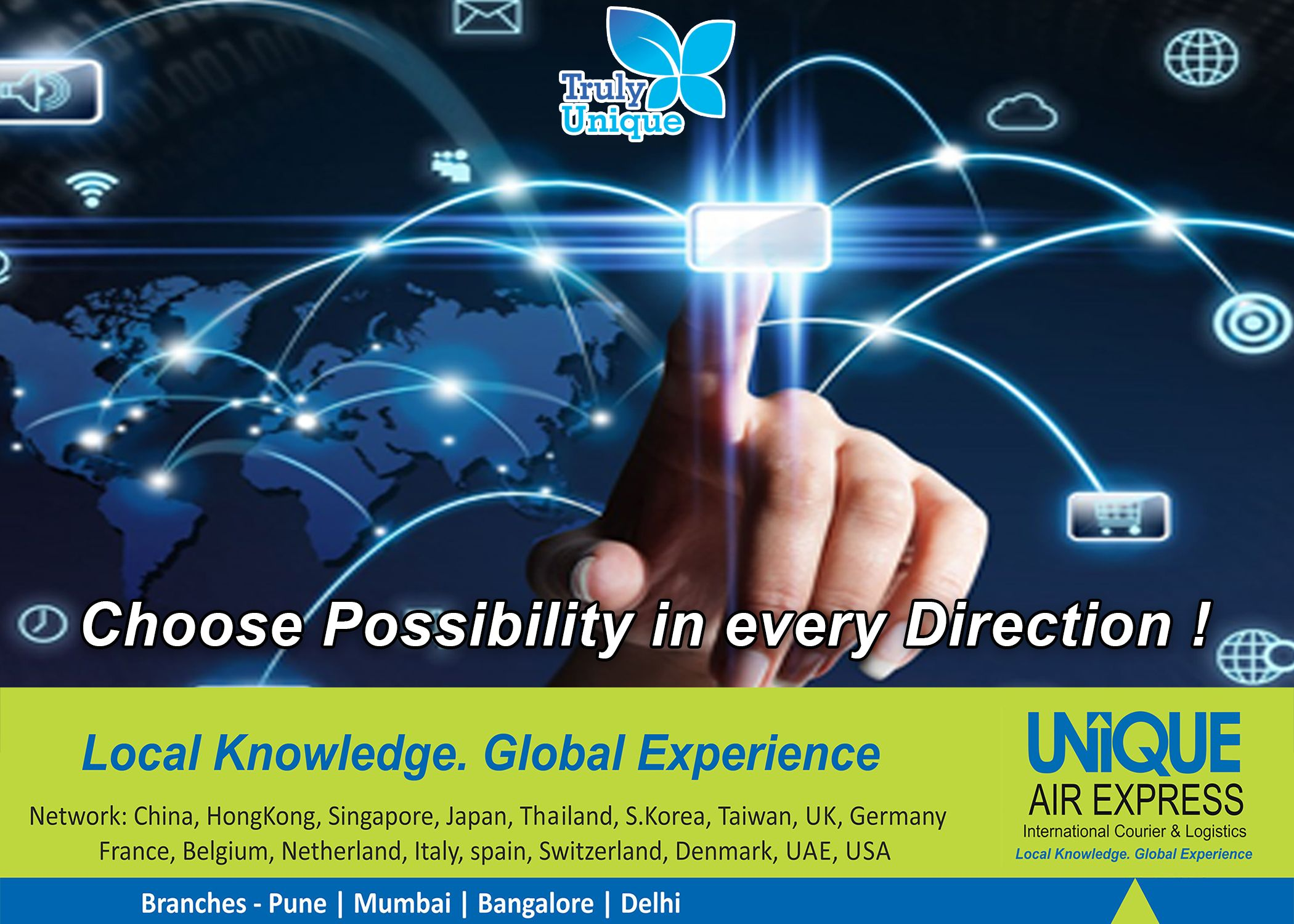 Now You Can Choose Possibility in Every Direction with